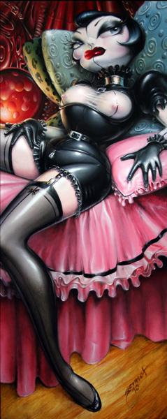 Fetish boudoir